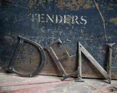 Selection of Bronze Letters