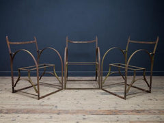 Metal Frame Garden Chairs