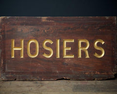 Hosier Trade Sign