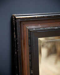 Ebonised Mirror