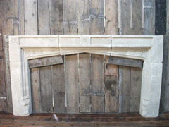 Gothic Carved Sandstone Chimneypiece