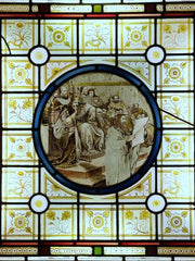 Shakespeare Stained Glass Panel