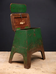 Painted Steel Industrial Chair