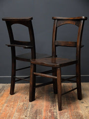 Black Painted Chapel Chairs