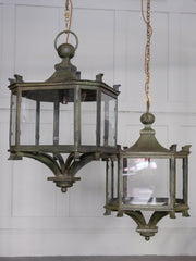 Late 19th Century Glazed Lanterns