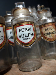 Apothecary Bottles Collection