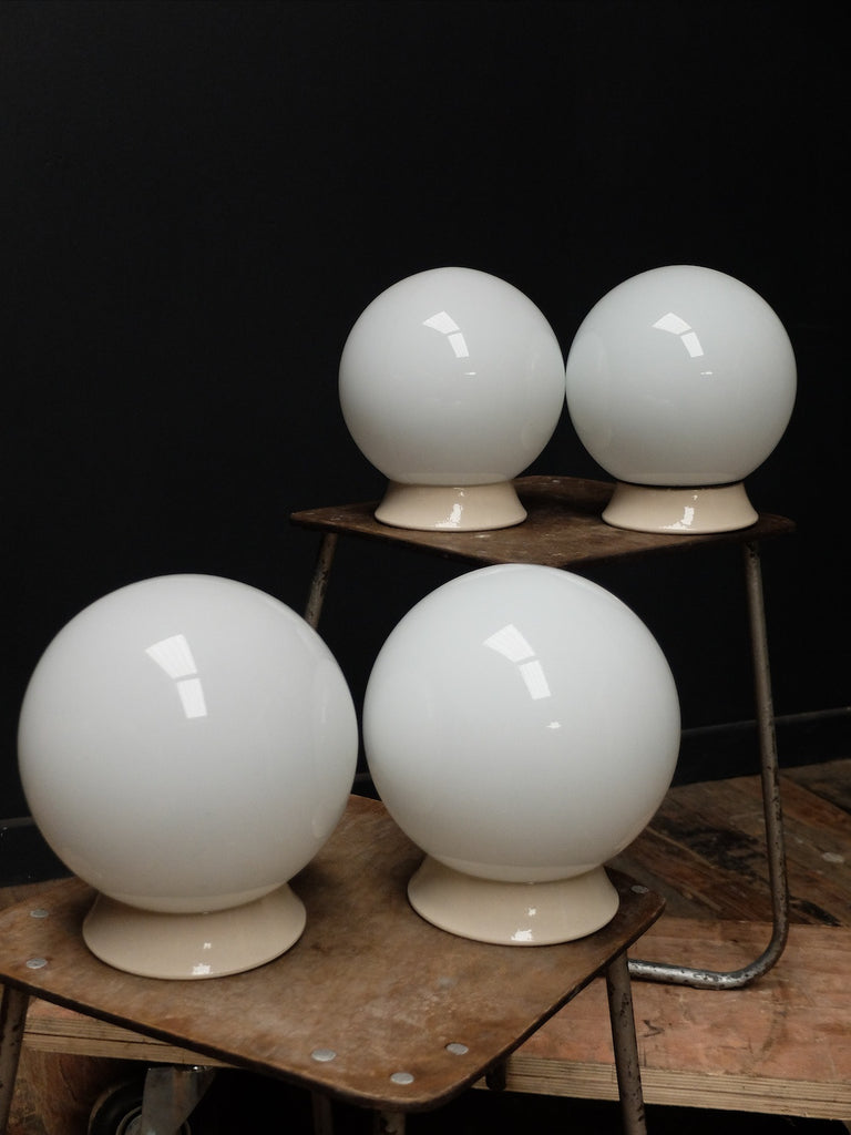 Small Ceiling Opaline Globes