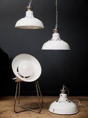 White Industrial Pendants