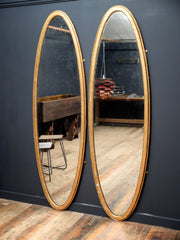 Large Oval Mirrors