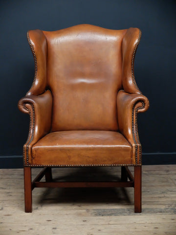 Leather Wingback