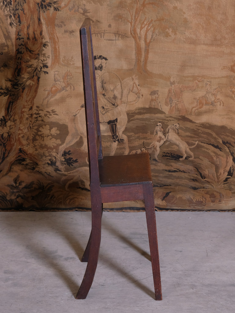 18th Century Deportment Chair