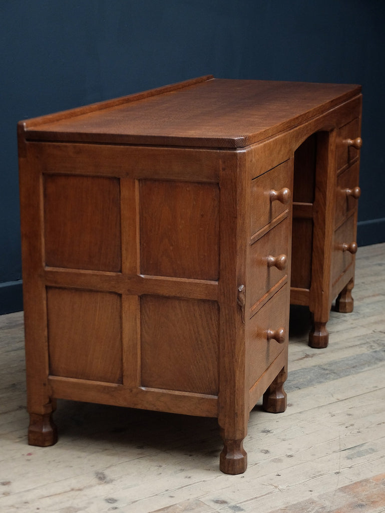 Mouseman Kneehole Desk