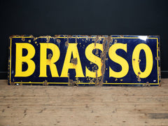 Brasso Trade Sign
