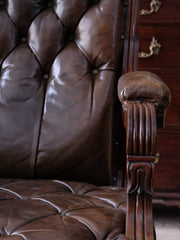 A Late Regency Library Armchair