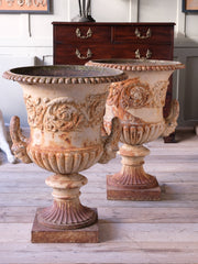 A Pair of Handyside Campana Urns