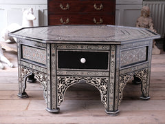 Syrian Mother Of Pearl Centre Table