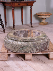 Fossil Marble Column Plinth