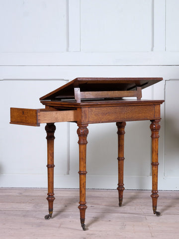 An Early Victorian Library Table