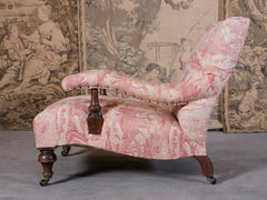 Shoolbred Armchair in Toile