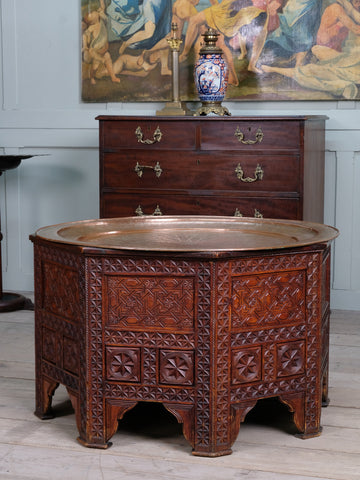 Octagonal Tray Top Table