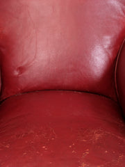 Moroccan Leather Club Chairs