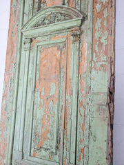 Monumental 19th Century Door & Overdoor