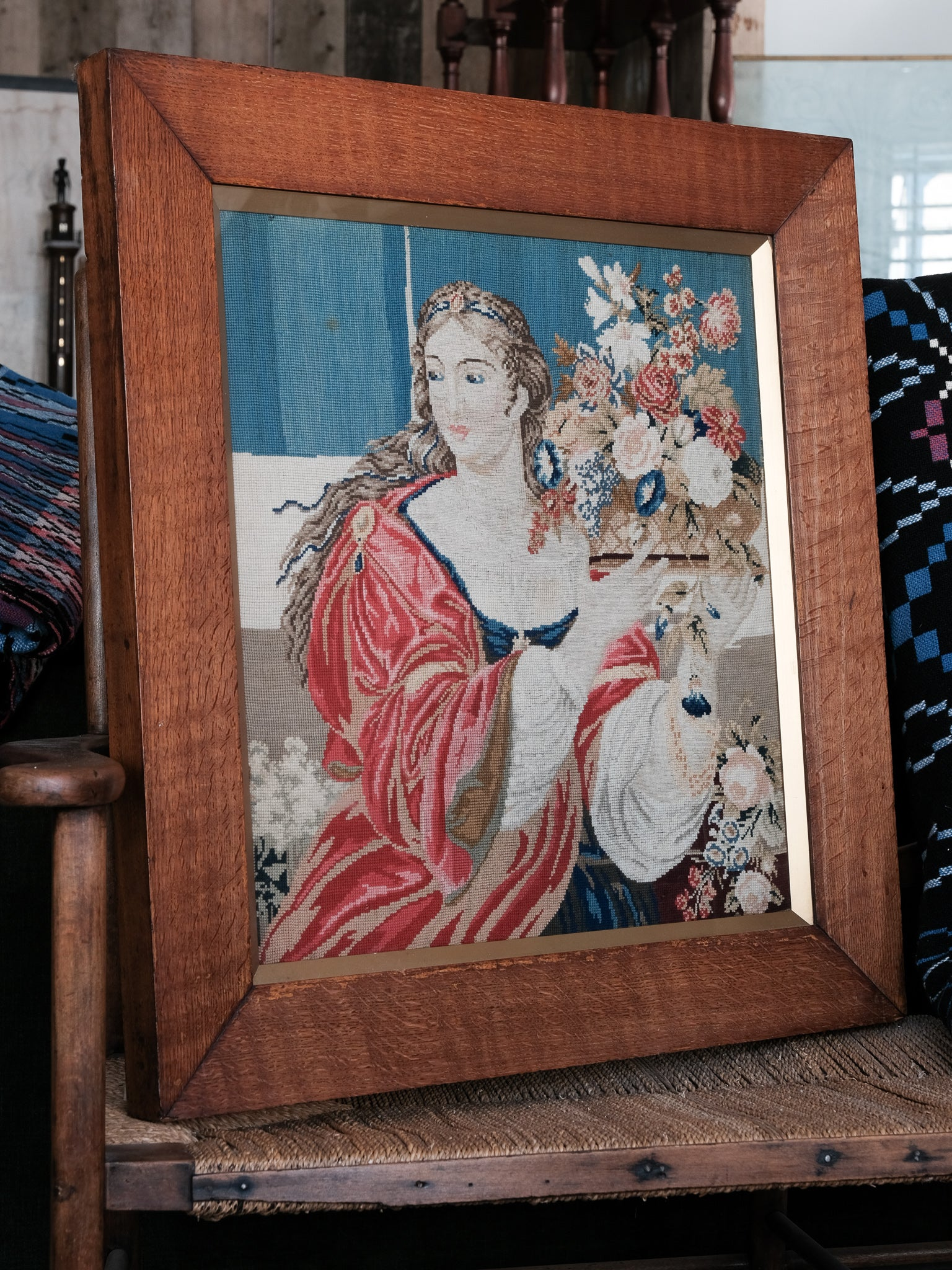 Classical Framed Tapestry