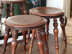 Near Pair of Stools