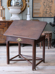 18th Century Draughtsman Table