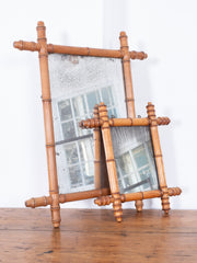 Faux Bamboo Mirrors