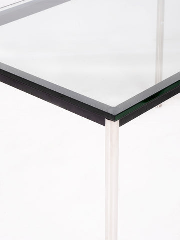 Chrome & Glass Desk