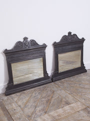 Cast Iron Overmantel Mirror