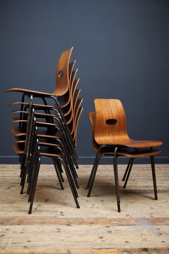 Robin Day Q Stak Chairs