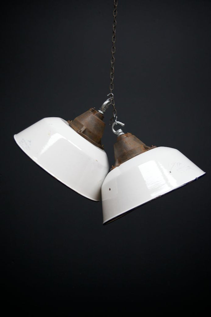 Enamel Industrial Pendants