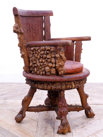 Rusticated Desk Chair