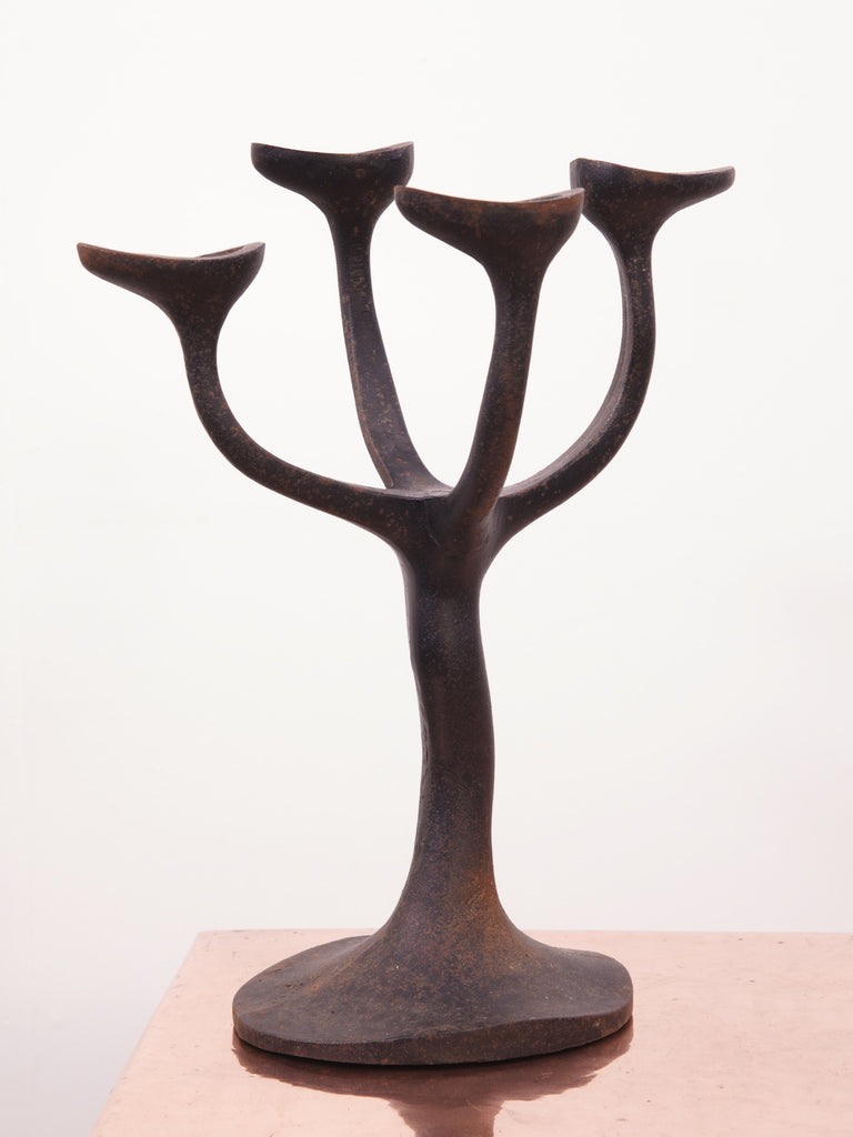 Cast Iron Candelabra