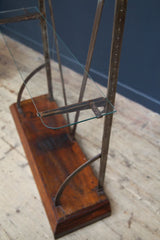 Wrought Iron Retail Display