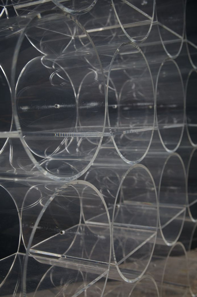 Clear Acrylic Shelving