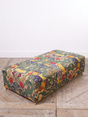 Bespoke Embroidered Ottoman