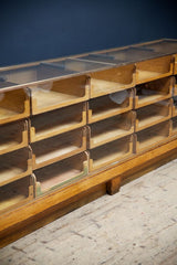 Bronze Framed Haberdashery Counter