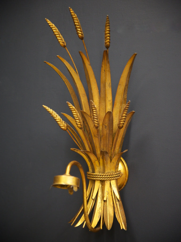 Wheatsheaf Wall Sconce