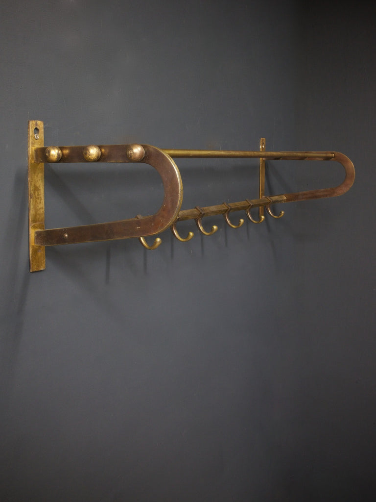 Brass Luggage Rack
