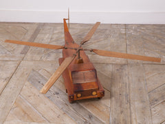 Westland Helicopter Truck Scale Model