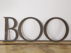 Bronze Letters