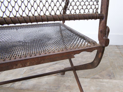 Chain Mail Garden Chairs