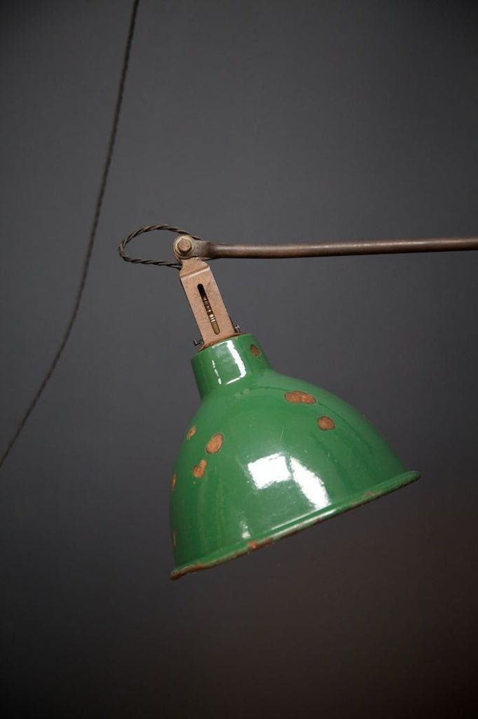 Dugdill Patent Machinists Lamp