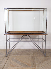 Chromed Museum Display Cabinet