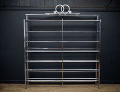 Chrome Plated Etagere