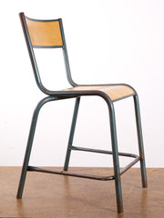 Single Steel and Ply Chair