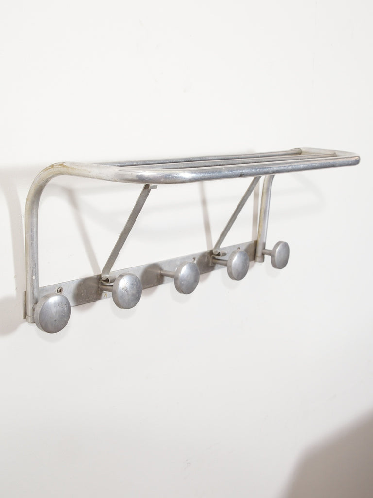 Alloy Hat & Coat Rack